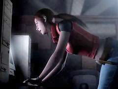 Claire, Resident evil x, Great ass, Resident evil, Evil, Red ass