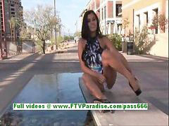 Public, Flashing, Girls flashing, Alexa loren, Flashes, Lore