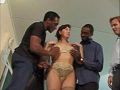 Gangbang, Mature, Interracial, Mature gangbang, Squirt, Interracial gangbang