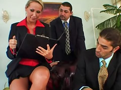 Threesome anal, Mandi, Agent, Anal threesome, Anal dp, Tate