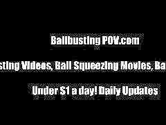 Amateur, Ballbusting, Humiliation