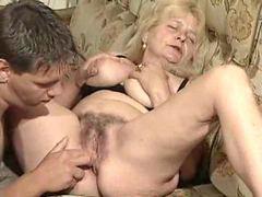 С юными, Младшая, Бабушка