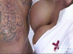 Nurse, Wet, Boob fuck, Wet pussies, Wet fuck, Wet pussy