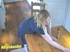 English, Pantyhose fuck, 6 inch, In english, Pantyhose wife, Inches