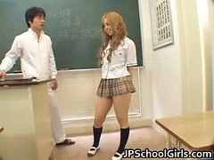 Schoolgirl, Asian, Masturbating, Masturbate, Masturbation