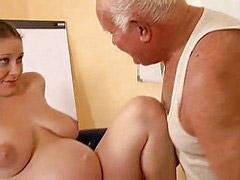 Pregnant, Grandpa, Girl