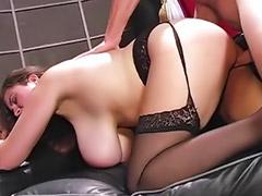 Anal, Pantyhose, Big tits