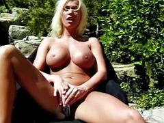 Big tits solo, Shaved solo, Outdoor solo, Big toys big tits, Tits big hot, Pool masturbation