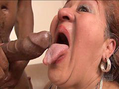 Gagging black, Gagged black, Gag black, 好grandma, Grandmas, Grandma