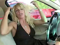 Super milf, Gloryhole swallows