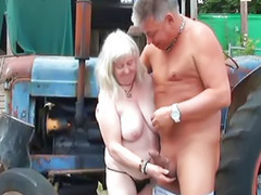 Granny, Amateur, Vagina, Old