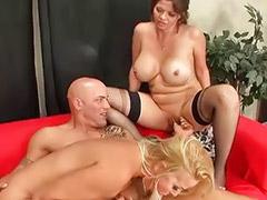Big titted blonde milf