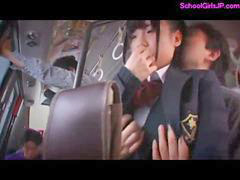 Bus, Schoolgirl, Forced, Schoolgirls, Rap, Rapped