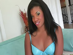 Interracial, Small tits, Small, Small cock, Big cock blowjob, Ebony black