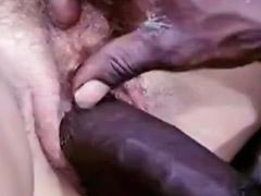 Negras peludas, Interracial cum, Vendimia, Peludo