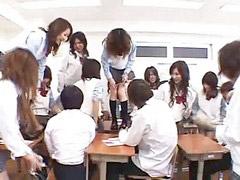 Japanisch arsch, Klassenzimmer, Japanisch