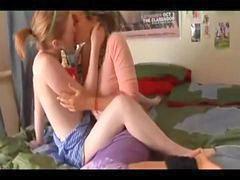 S lesbicas teens, Masturbação lesbians
