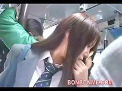 Bus, Blowjob&fucking, Schoolgirl bus, Schoolgirl fuck, Schoolgirl blowjobs, On a bus