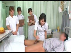 Nurse, Asian, Handjob, Handjobs