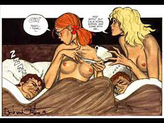 Erotic, Comic, Comics, Thied, Thying, Readheaded