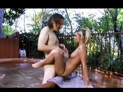 Asia porn, Vagina in, Pornstar blonde, Pornstar cum, Pool sex, Pool blonde