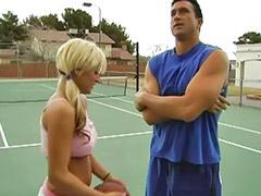 Sport, Cum on tits