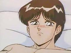 Hentai, Blowjob&fucking, Big blonde, Oral fuck, Big tits hentai, Vaginal y oral