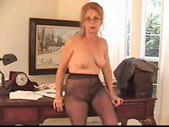 L老太, 连裤袜, 老婆婆, 多毛
