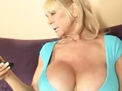 Big tits, Handjob