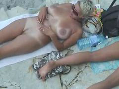 Beach, Nude, Mature