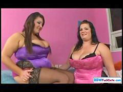 Lesbian, Fat, Chubby, Pussy, British, Licking