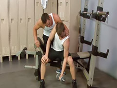 Gym, Dylan, Gay blowjobs, Humping, Gay gym, Cam gay