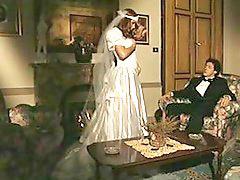 新娘,, 戴绿帽, 新娘, 老的