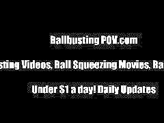 Amateur, Ballbusting