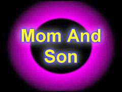 Mom and son, Mom