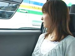 Japanese girl, Japanese public, Car, Japanese, Japanese outdoor, Public