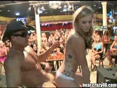 Niña stripper, Party jovencitas, Con niñas