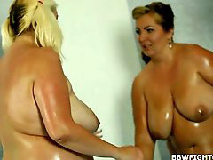 Between, Oil wrestling, Tween, Fatties, Wrestling oiled, Wrestling oil