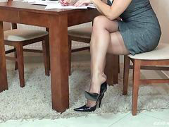 Nylon, Nylons, In nylons, Stockings nylon, Nyloned, Nylone