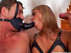 Sucking hard, Ellen, Meat, Two slave