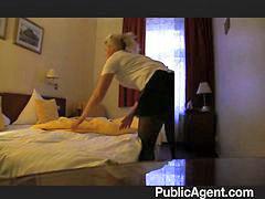 Zimmermädchen fickt, Blond dünn, S ficken, Ficke n, Gefickt,, Abgefickt