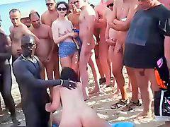 Spiaggia, Folla, Calca