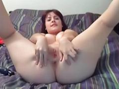 Big big ass masturbacja, Masturbacja dupy