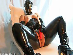 Latex, Masked, Mask, Gas mask, N latex, Mask latex