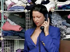 مدير, تسوق, ى المحال, مديرات, فضائع محل, ف المحل