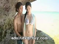 Japanese, Beach, Beach sex, Sex girls, Oral, Girl on girl
