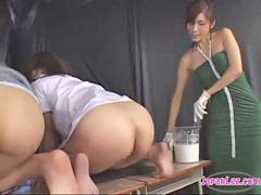 Teacher, Spanking, Enema