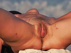 Small tits, Bondage, Lesbian