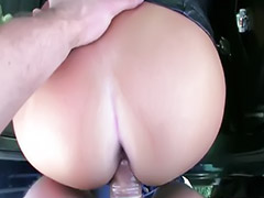 Money, Public, Taxi, Public blowjob, Girls blondes, Sex money