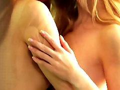 Szőke leszbikus tinik